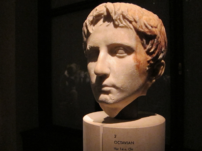 Octavian. Portrait prior to 14 A. D. Altes Museum Berlin, inv. I110. Photograph: UK.