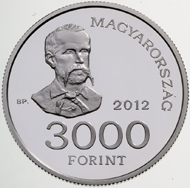 Hungary / 3000 HUF / Silver 925 / 34.00 mm / 20.00 g / Design: Eniko Szollossy / Mintage: 2,000 pcs (BU) and 4,000 pcs (Proof).