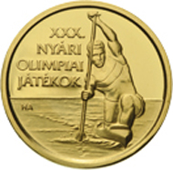 Hungary / 5,000 HUF / .999 gold / 0.5 g / 11.00 mm / Design: Andrea Horváth / Mintage: 10,000 (proof-like).