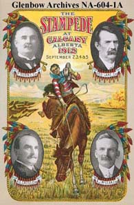 Calgary, Alberta Program for 1912 Calgary Exhibition and Stampede, front cover. Source: Glenbow Museum / Wikipedia.