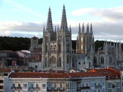 The Cathedral of Burgos. Photo: Camino del Cid / Wikipedia.