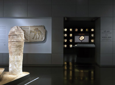 A glance into 'White Gold', the new exhibition of the Israel Museum. Photo: Israel Museum.
