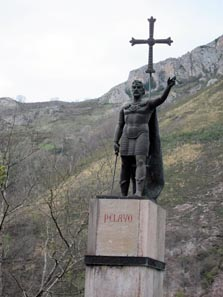 The First Soldier of the Reconquista: Pelayo. Photo: KW.