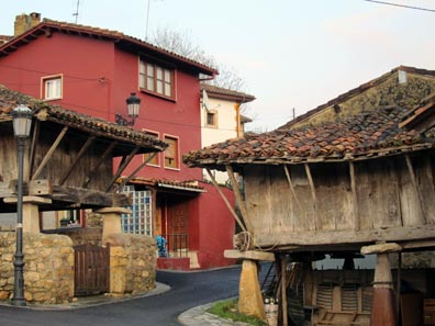The Characteristic Granaries of Asturias. Photo: KW.