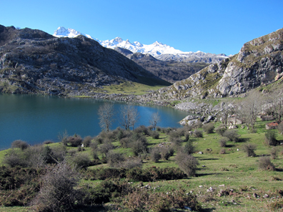A Spanish Mountain Lake. Photo: KW.