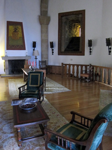 Inside the Parador Tower. Photo: KW.