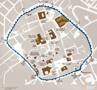 Layout of Lugo. Photo: Luis Miguel Bugallo Sánchez (Lmbuga) / Wikipedia.