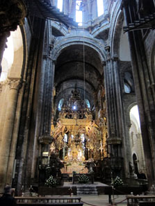 The Baroque High Altar. Photo: KW.