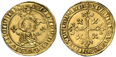 Philippe IV the Fair. Florin d'or