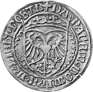 Zurich. Gold gulden 1526, minted under mint master Niklaus Sitkust. The Zurich coat of arms in trefoil. Rev. Crowned shield with imperial eagle.