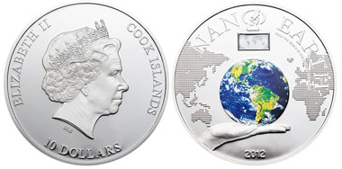 Cook Islands / 10 dollars / silver .925 / 50 g / 50 mm / Mintage: 1,000 pieces.