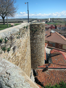 A portion of the preserved Roman city wall. Photo: KW.