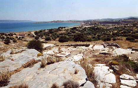 The ruins of Thorikos.