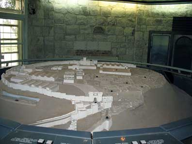 A model of Megiddo. Photo: James Emery / Wikipedia.
