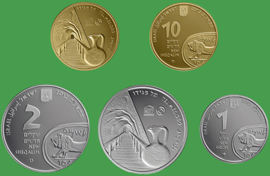 The new coin is available in gold and silver.