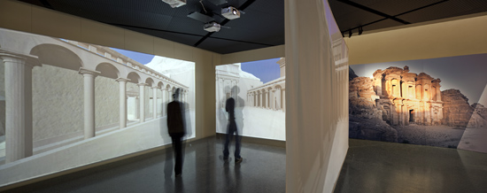 View into the exhibition. Photo: Andreas Voegelin, Antikenmuseum Basel.