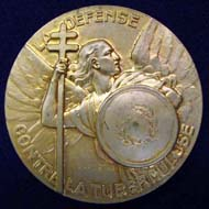 Medal of the National Anti-Tuberculosis Committee of France, c1930.