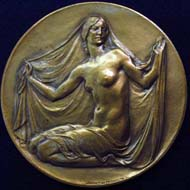Medal of the New York Academy of Medicine, 1928, by Harriet Whitney Frishmuth.