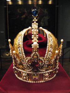 The Crown of Rudolf II. SK Inv.-Nr. XIa 1. Photo: Gryffindor / Wikipedia.
