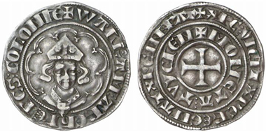 Cologne. Tournois of Walram, Count of Jülich, undated (1343), Deutz. From Künker auction 44 (2005), 594.