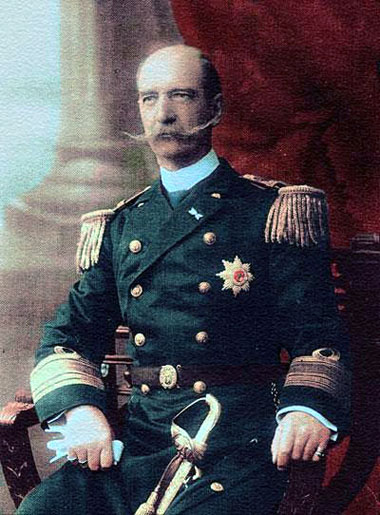 George I, King of Greece, before 1912. Photo: Wikipedia.