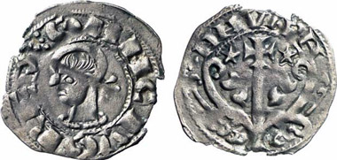 Sancho IV, 1054-1076. Dinero. From Künker auction 137 (2008), 3485.