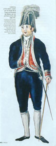 The director of the mint in his uniform around 1810. Photo: Casa de Moneda.