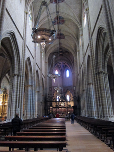 The Cathedral of Pamplona. Photo: KW.