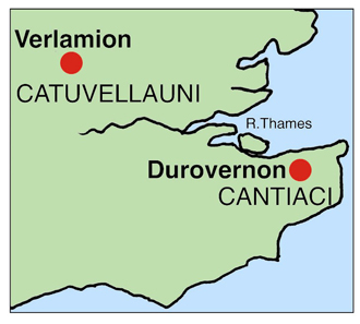 I think that Tasciovanos, high king of the Catuvellauni, pointed Sego (a son?) to rule the eastern Cantiaci on his behalf. The recent discovery of a Sego gold quarter stater in east Kent seems to support this idea. Source: Chris Rudd.
