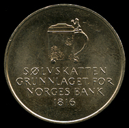 5-kroner coin 1991. Photo: www.skanfil.no.