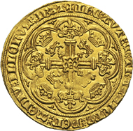 Edward III, 1327-1377. Noble no year (1356-1361), London. Seaby 1490. Extremely fine. From the Dr Edoardo Curti Collection, upcoming Künker sale (March 2013), No. 2418. Estimate: 7,500 euros.
