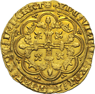 Philip VI, 1328-1350. Couronne d'or no year (February to April 1340). Of the utmost rarity. Extremely fine to FDC. From the Dr Edoardo Curti Collection, upcoming Künker sale (March 2013), No. 2444. Estimate: 35,000 euros.