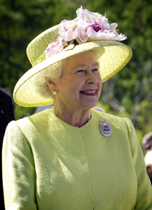 Queen Elizabeth, 2007. Photo: NASA/Bill Ingalls.
