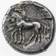Greece / Sicily. GELA. Tetradrachm. © Swiss National Museum Inv. ZB-G226.