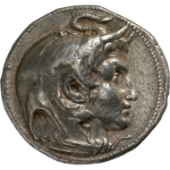 Ptolemy I (Egypt). Tetradrachm. From Bank Leu auction 71 (1997), 243.