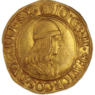 Gian Galeazzo Maria Sforza of Milan. Double ducat. From Bank Leu auction 68 (1996), 359.