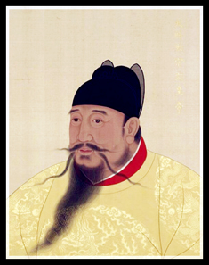 Emperor Yongle (1360-1424) as depicted by a Palace Painter. Source: Wikipedia.