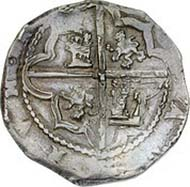 Spain, Philip II, King of Spain 1556-1598, real de a ocho, silver, Segovia, 1580