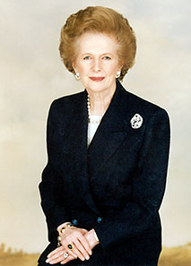 Margaret Thatcher. Photo: Margaret Thatcher Foundation / http://creativecommons.org/licenses/by-sa/3.0/deed.en.